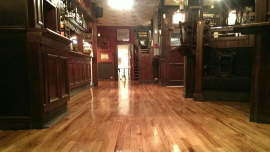 Commercial Floor Sanding and Refinishing at The Ship Tavern, London