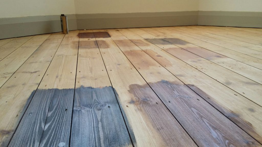Floor Sanding Colour Options