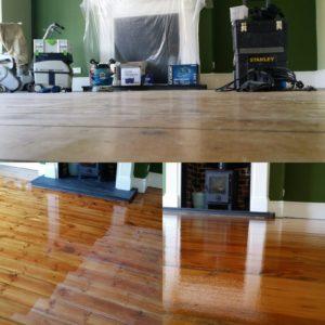 Pine Floor Sanding Services