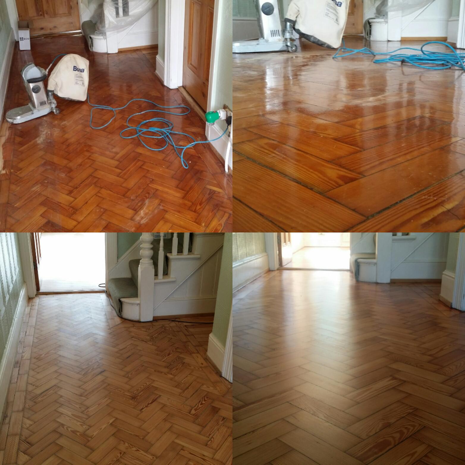 Parquet Floor Sanding Restoration