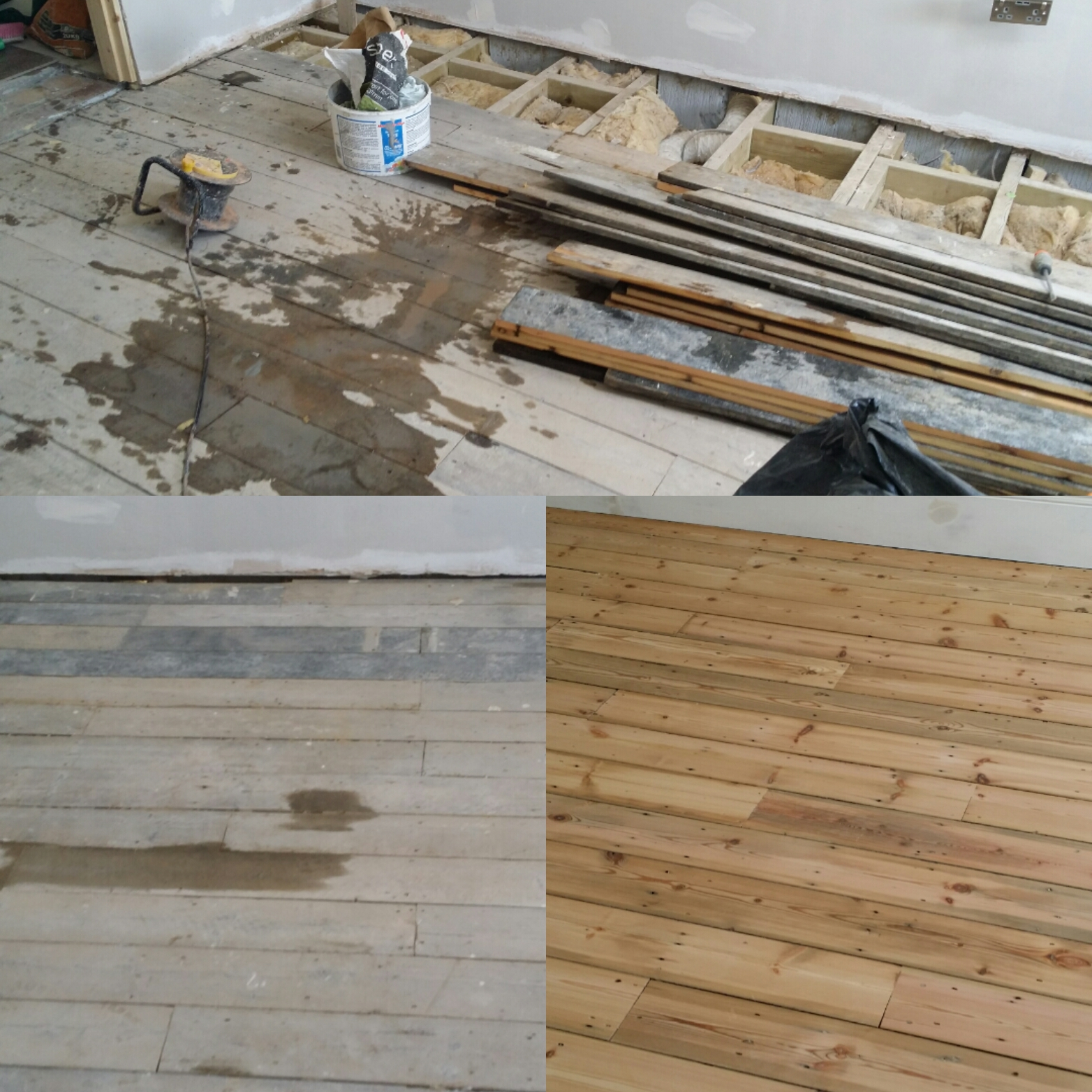 Wood Floor Instalation