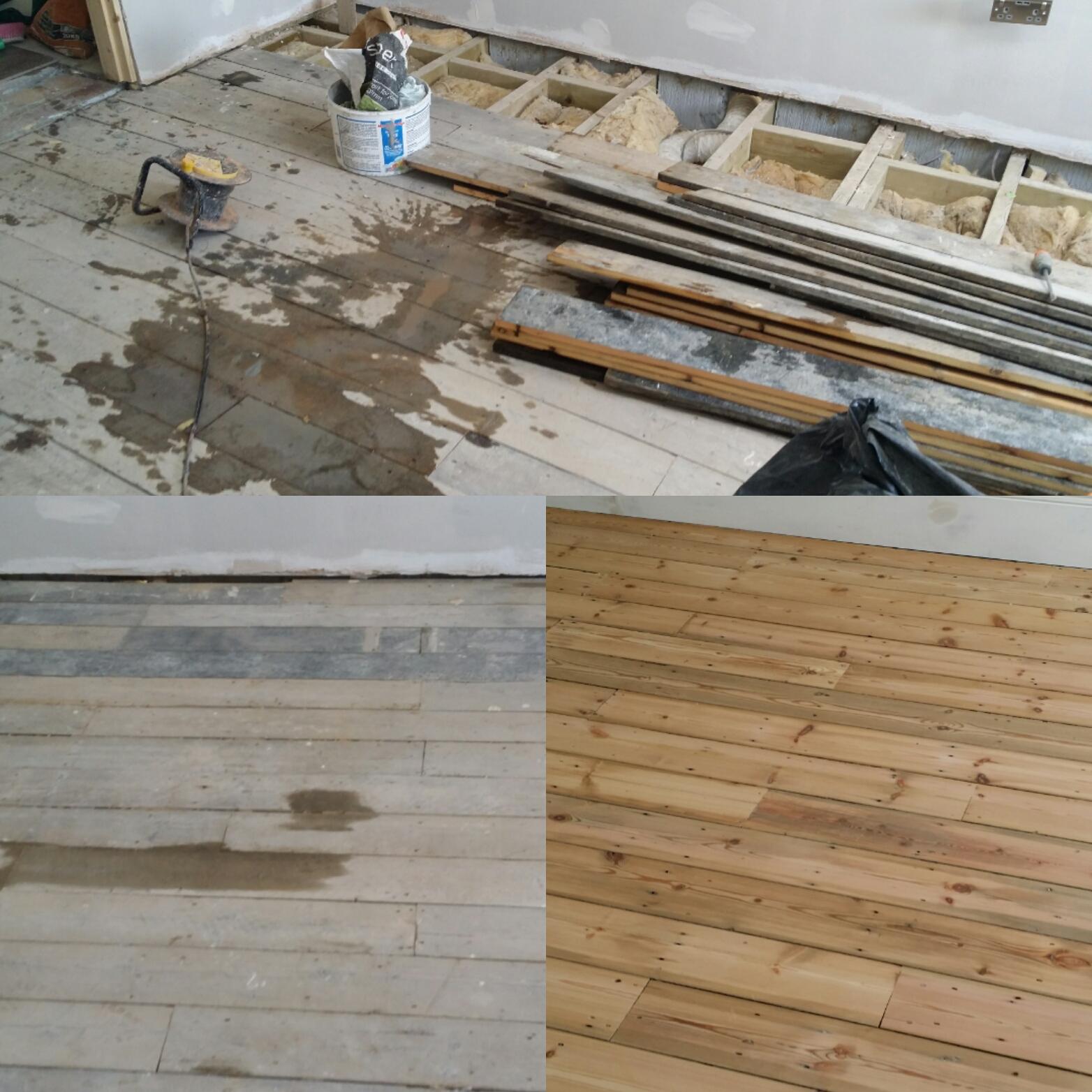 Wood Floor Instalation