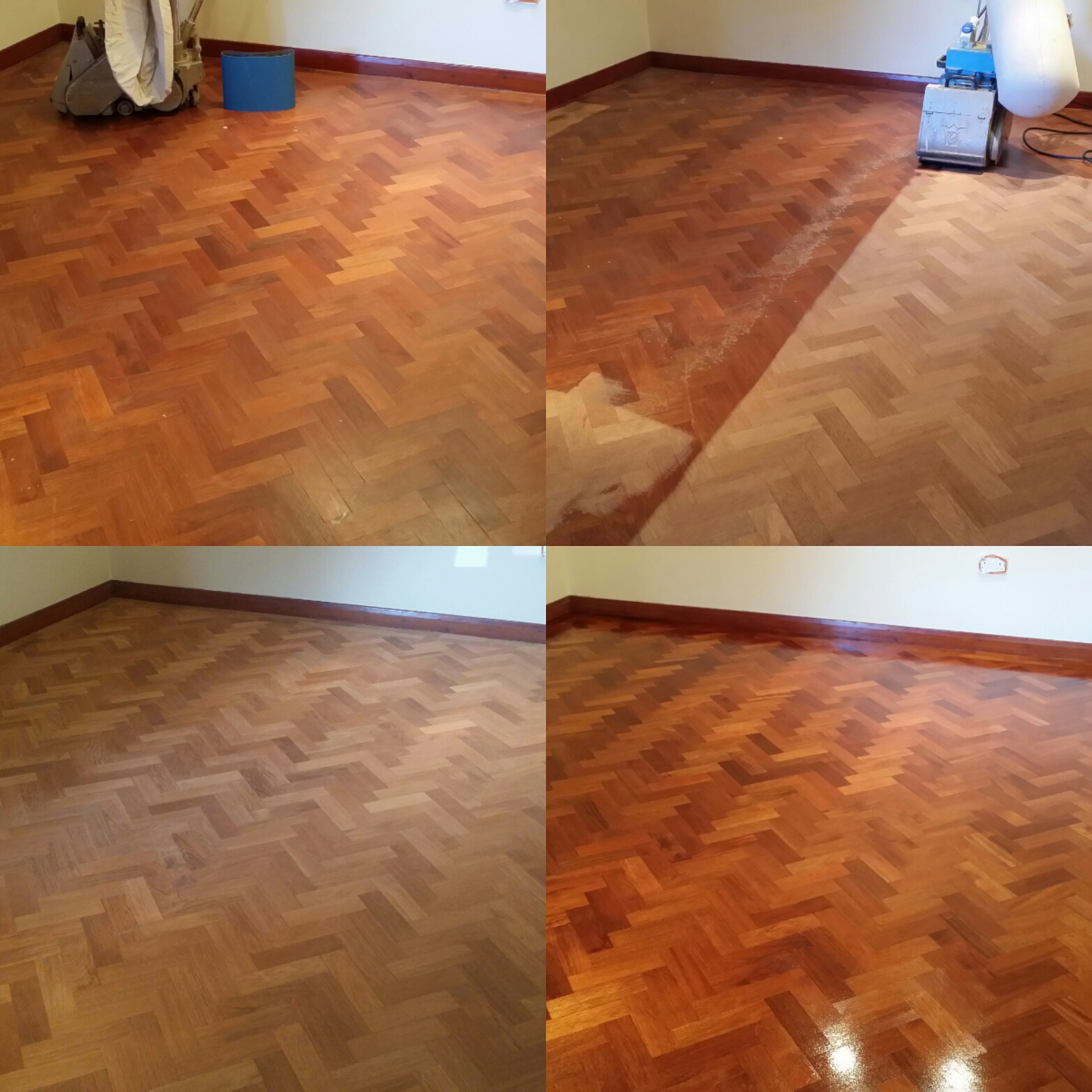 Parquet floor sanding in Chelmsford