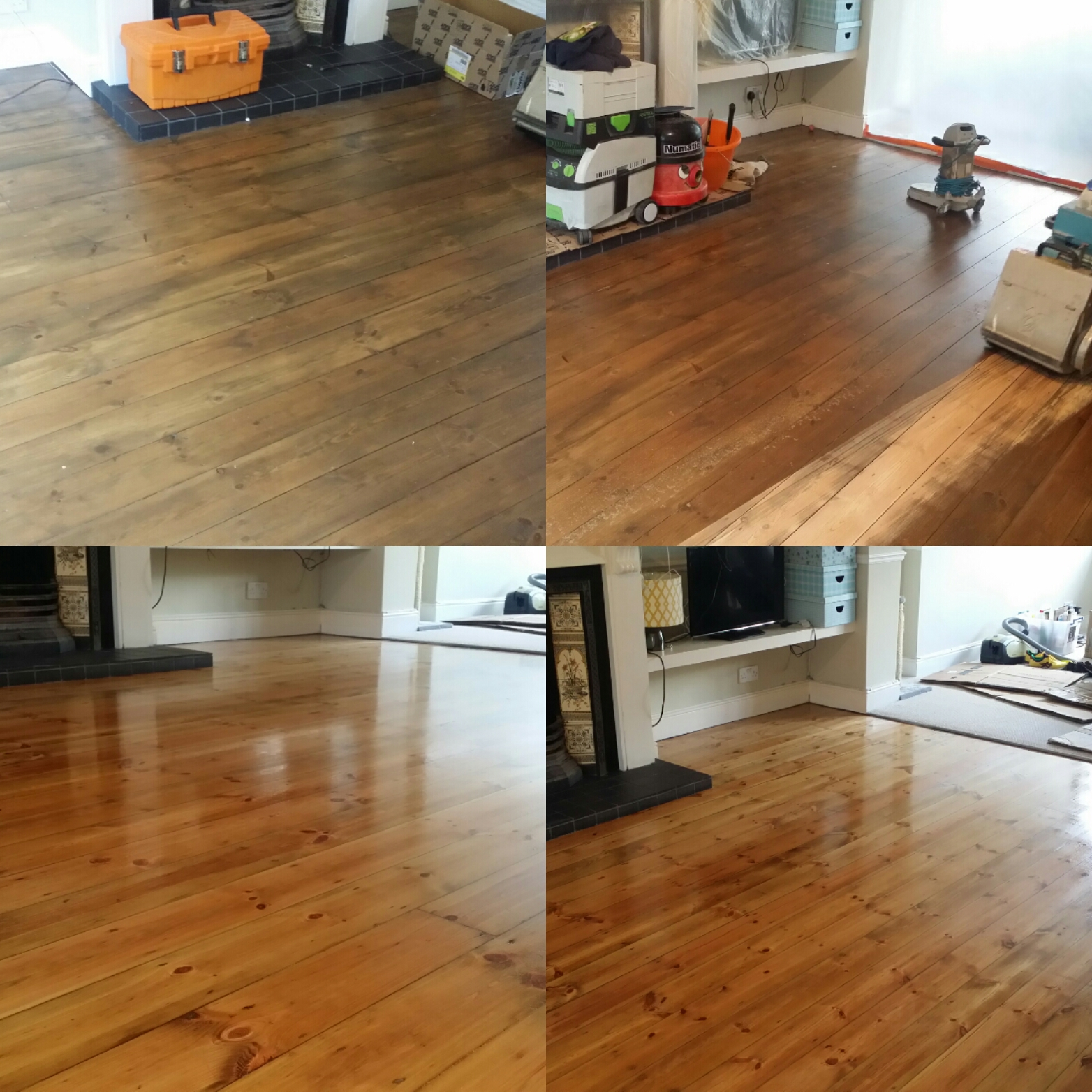 Floor board Restoration