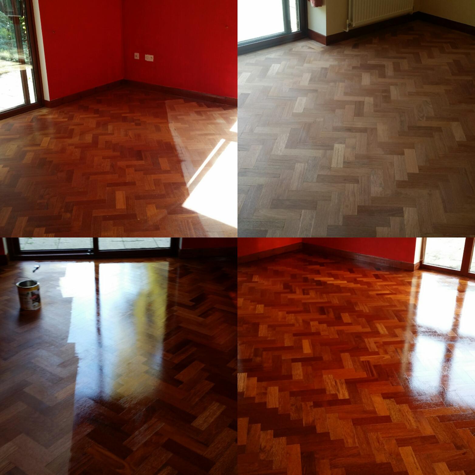 Herringbone Floor Sanding Services