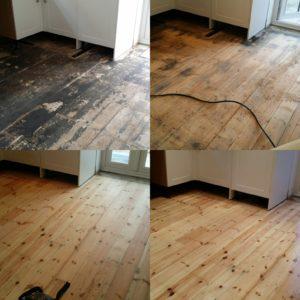 Floor Board Sanding and Refinishing