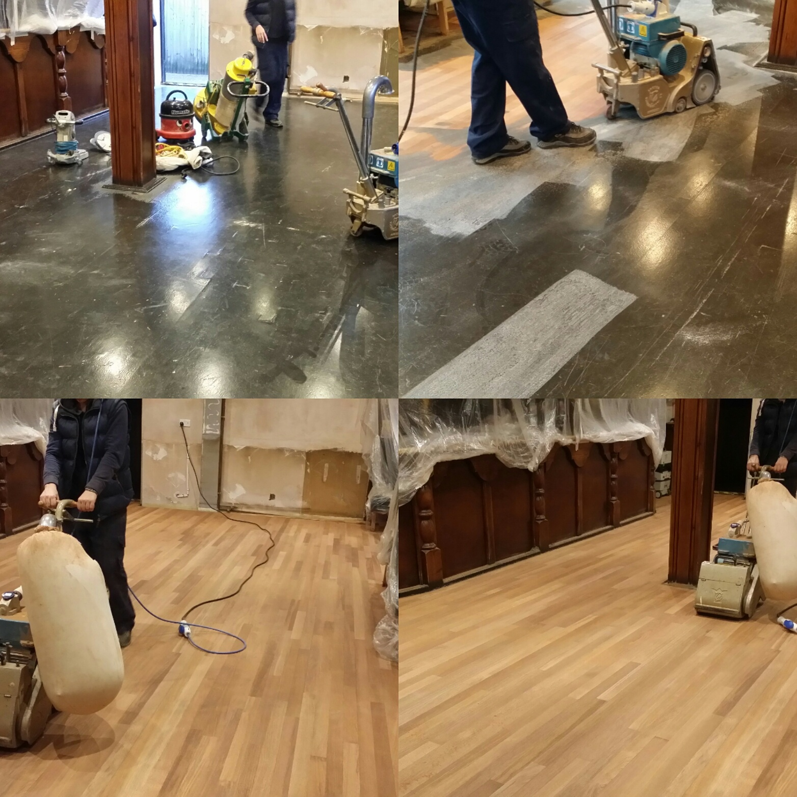 Commercial Floor Sanding and Restoration