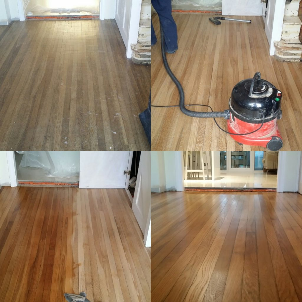 Hardwood floor refinishing London