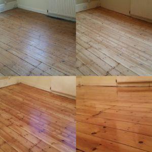 Pine Floor Board Sanding Services Essex