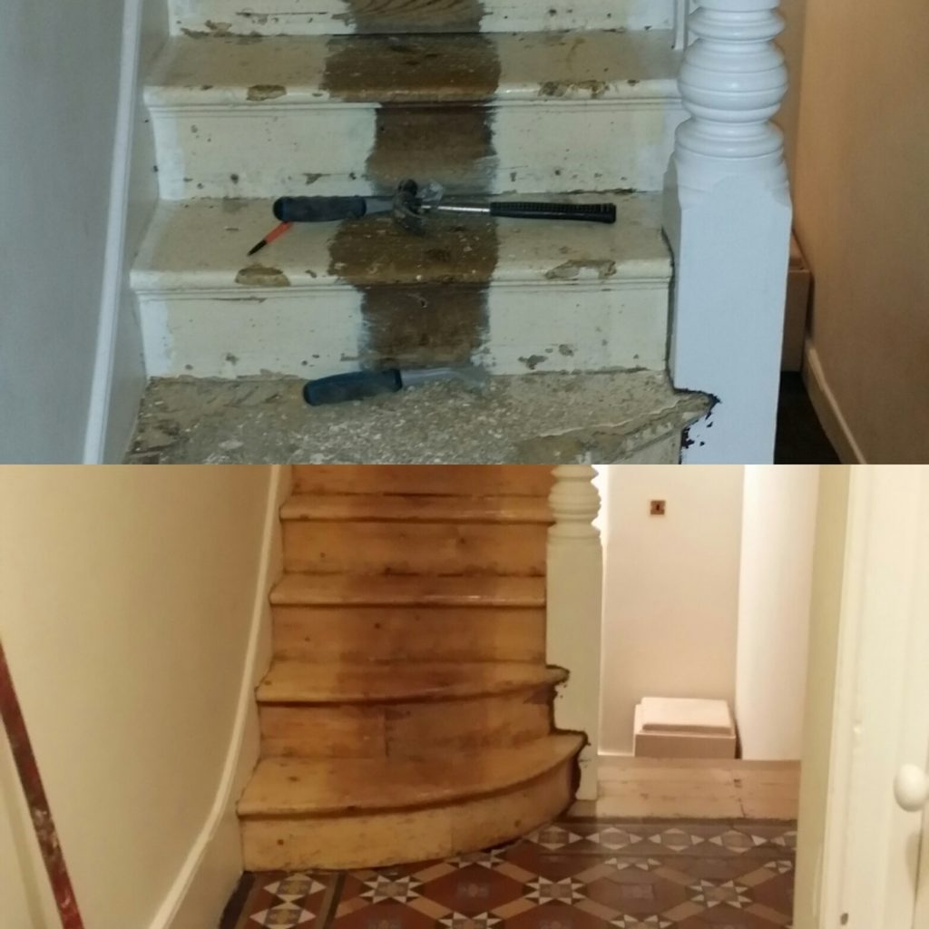 Stair Sanding and Refinishing