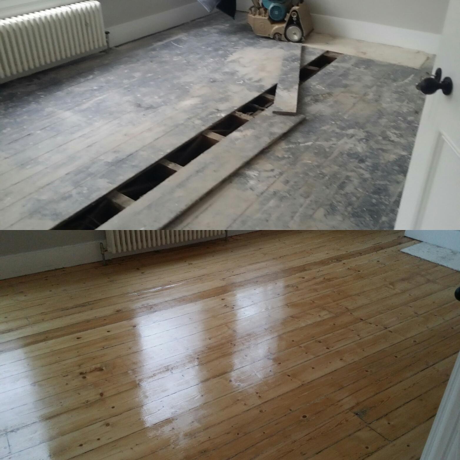 Essex Floor Board Sanding
