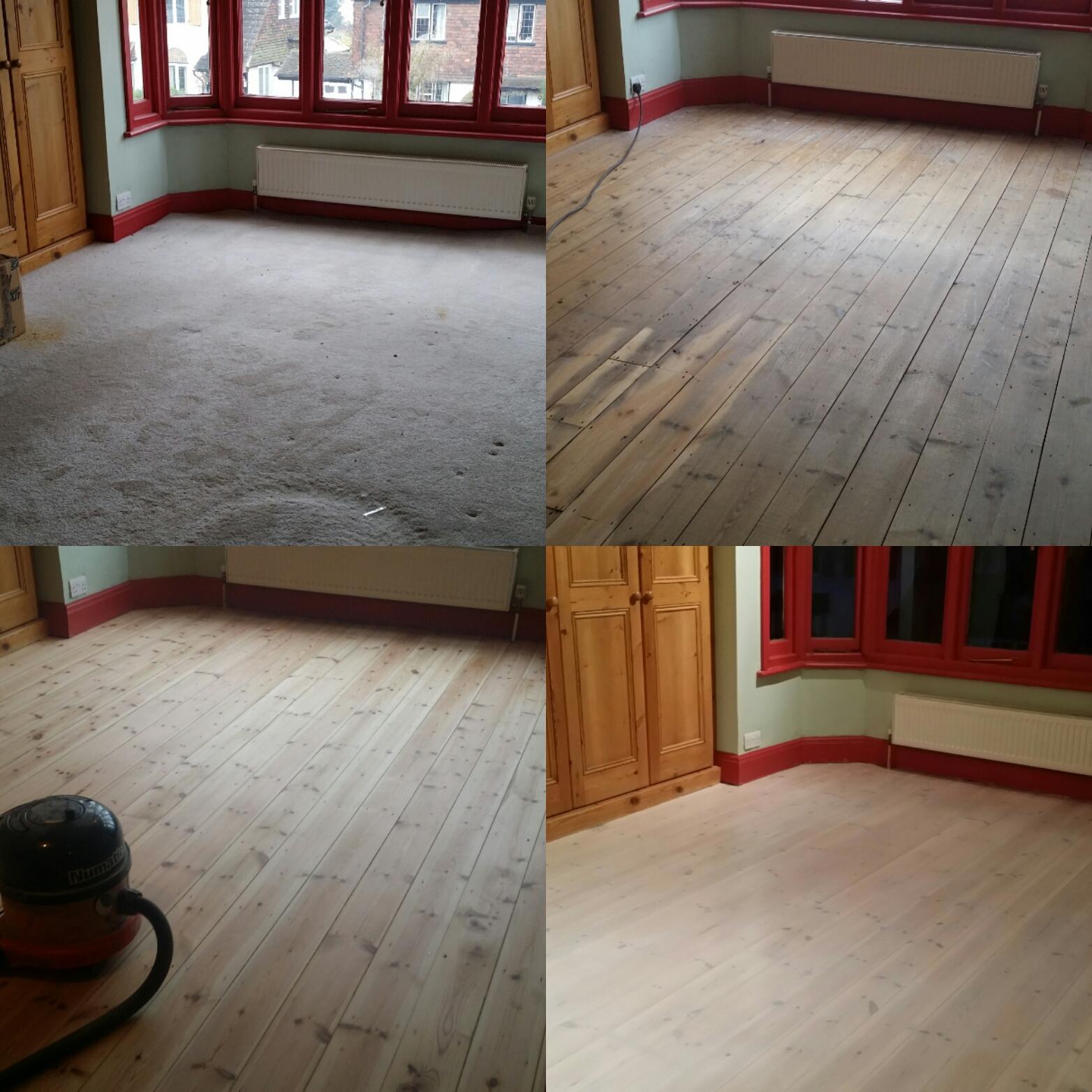 White Floor Board Sanding Services