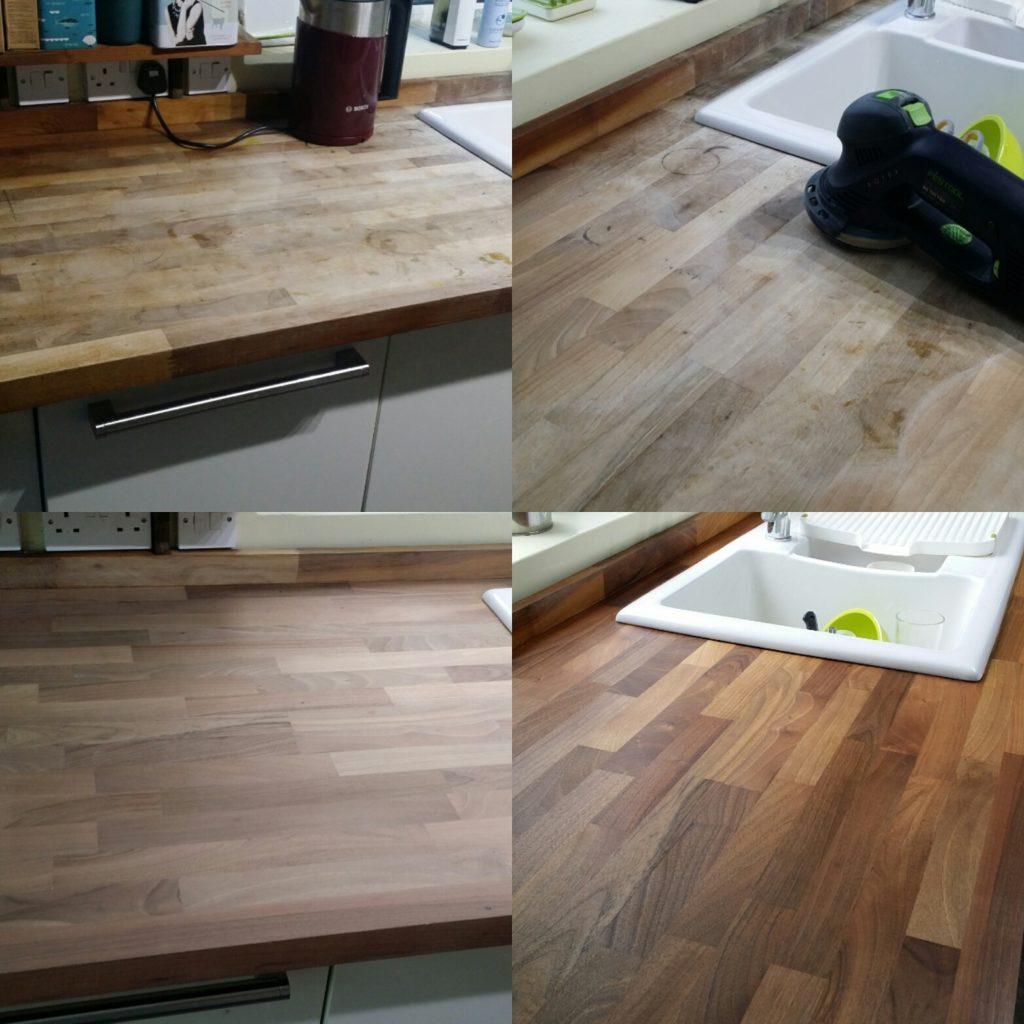 Kitchen Worktop Restoration Essex
