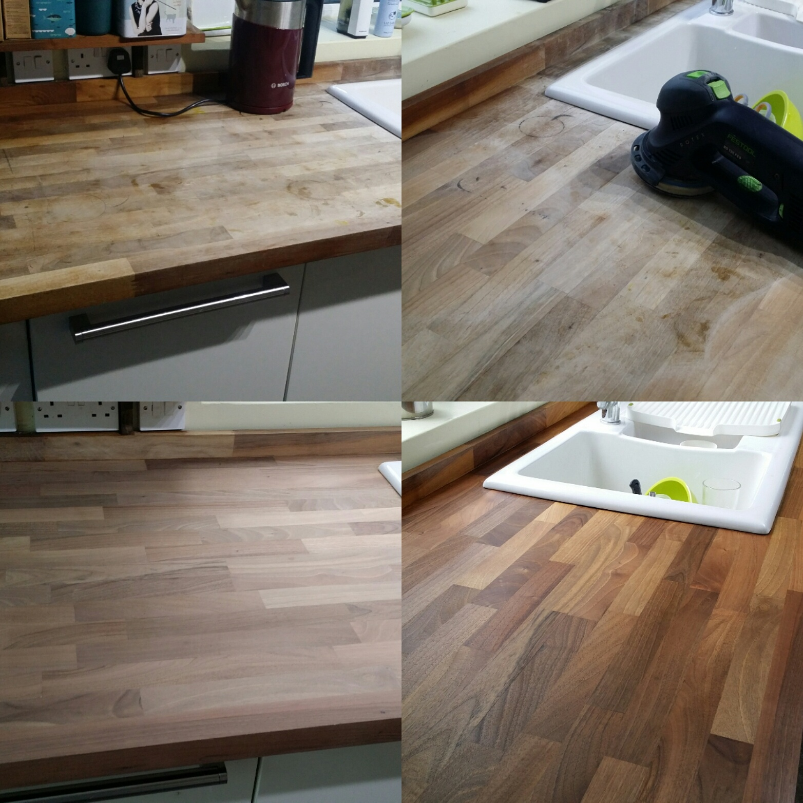Kitchen Worktop Restoration Essex