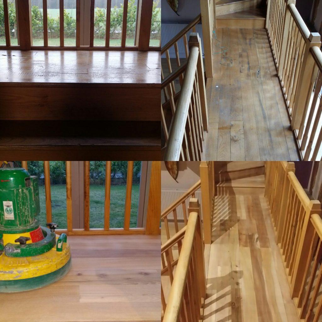 Hardwood Floor Sanding Restoration