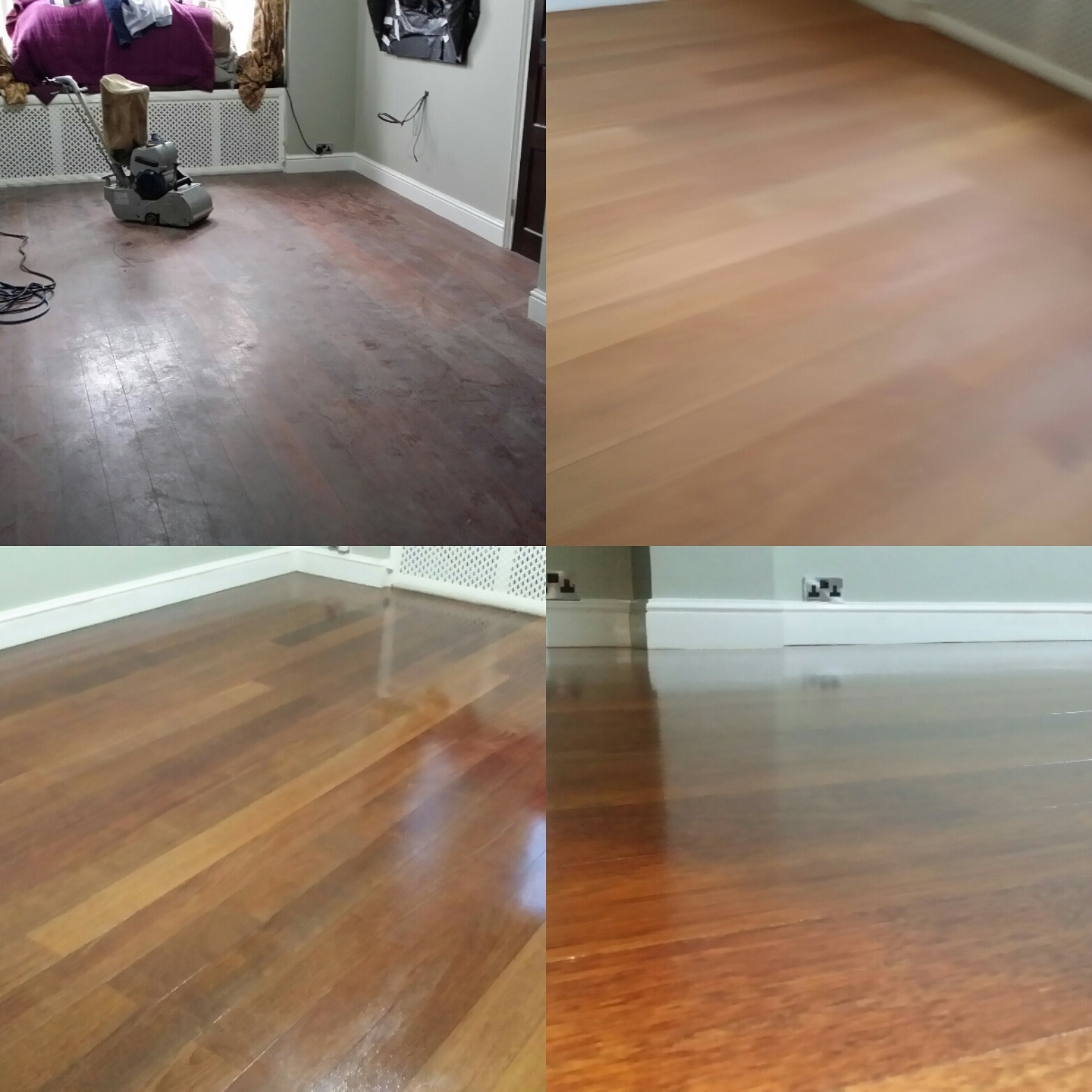 Hardwood Floor Sanding Refinishing