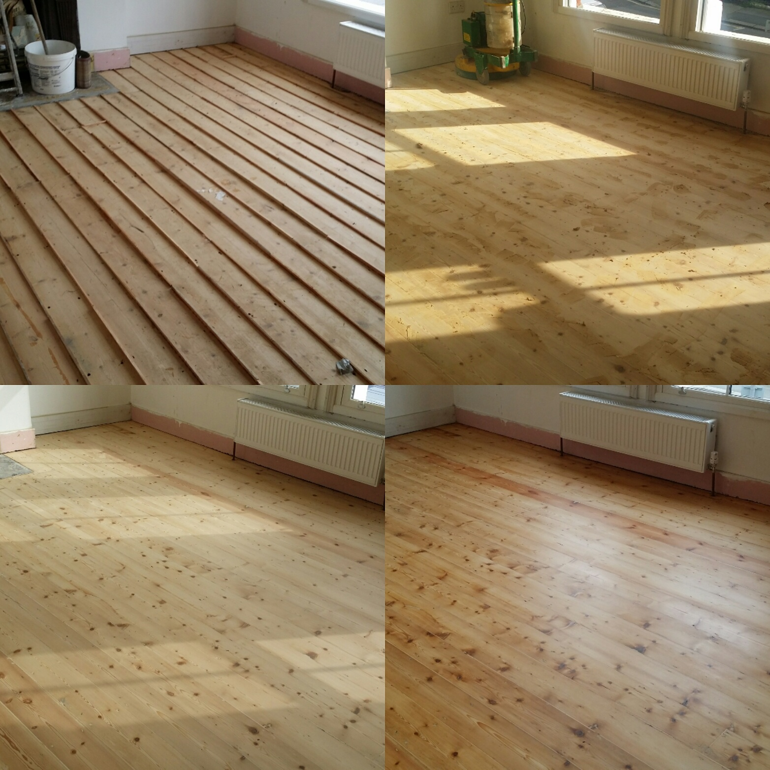 Pine Floor Board Sanding Services London