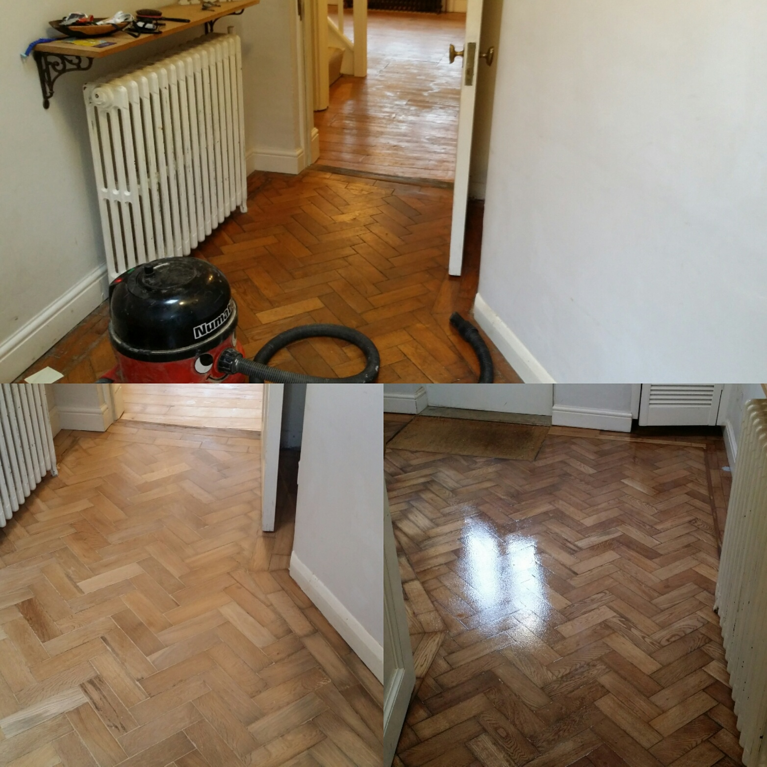 Parquet Wood Floor Restoration