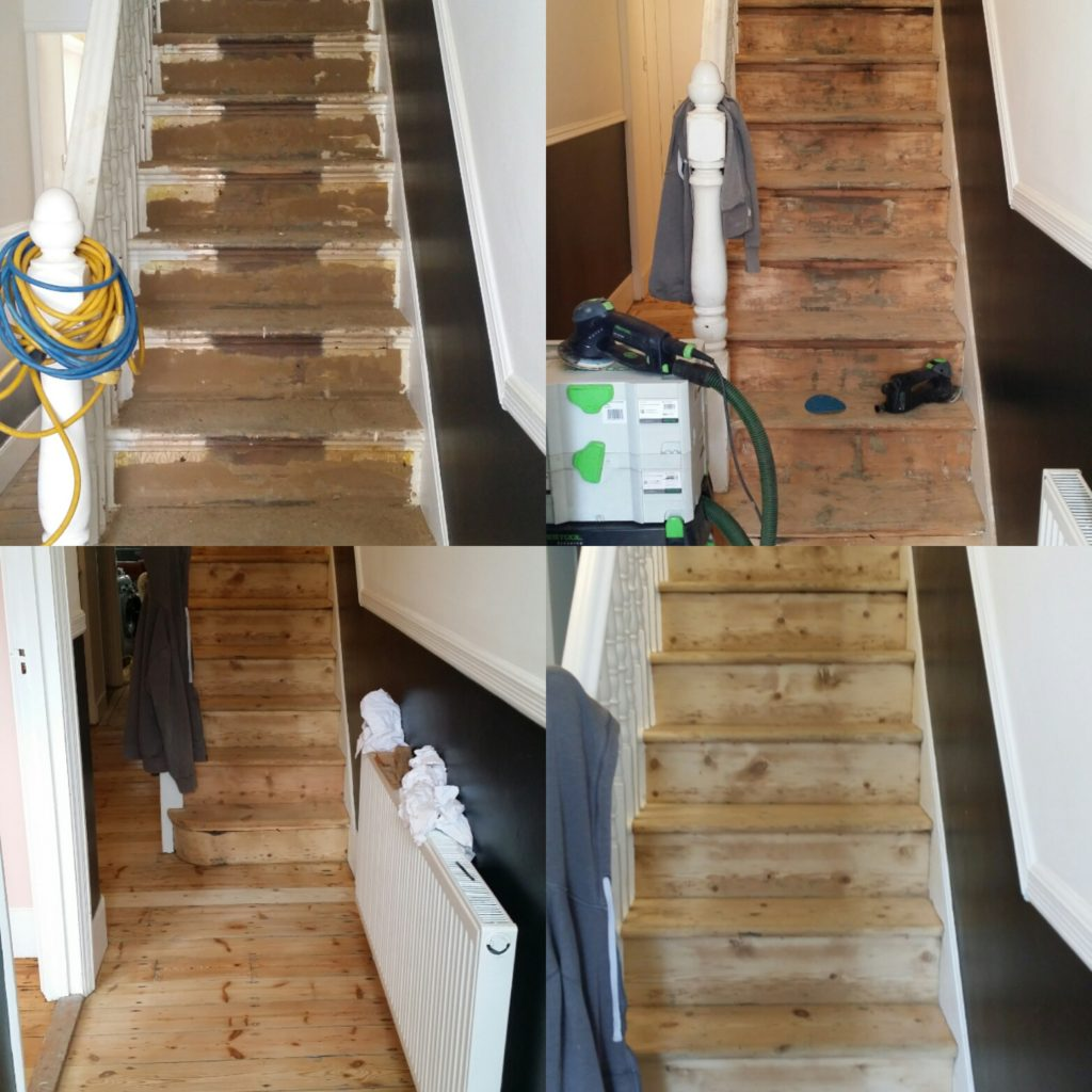 Stair Sanding Services