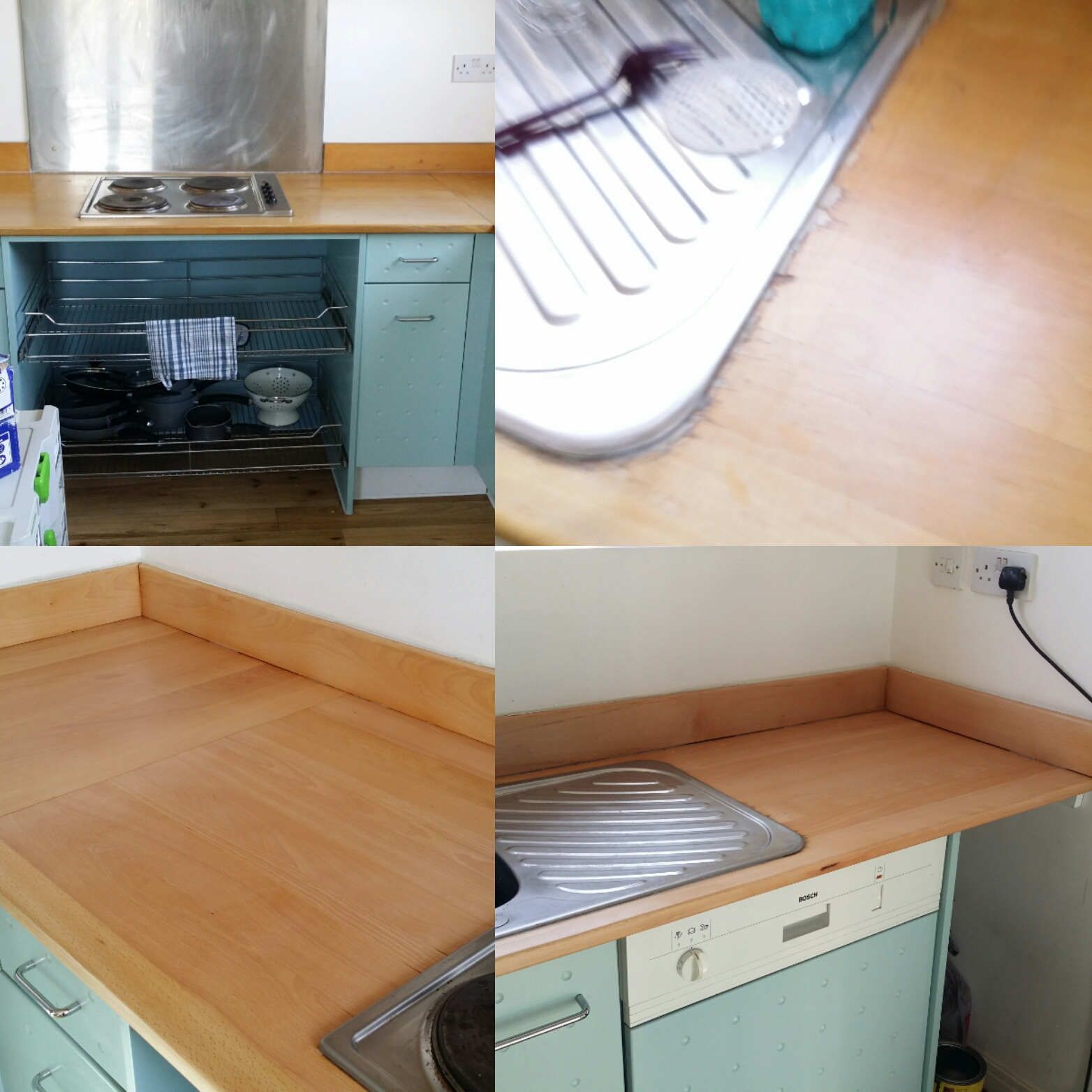 Wooden Worktop Restoration