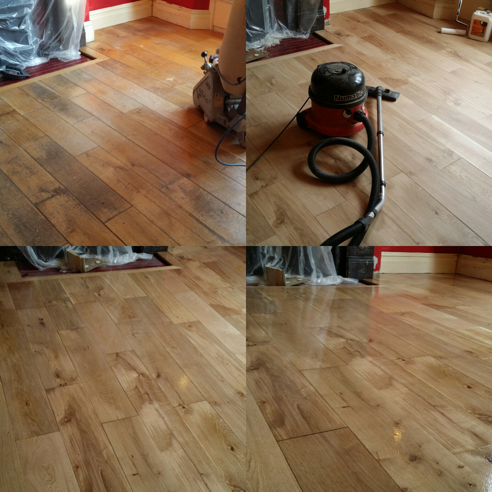 Solid wood floor sanding and refinishing in london for Wood floor restoration essex