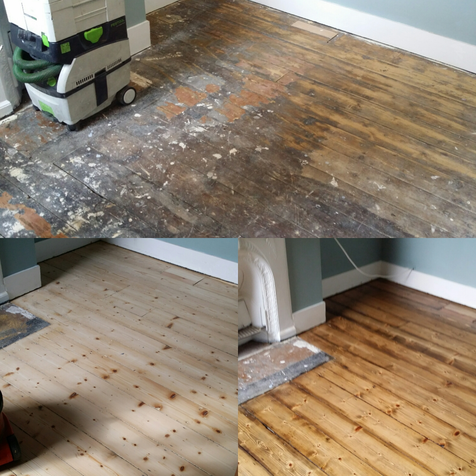 Wood Flooring Restoration