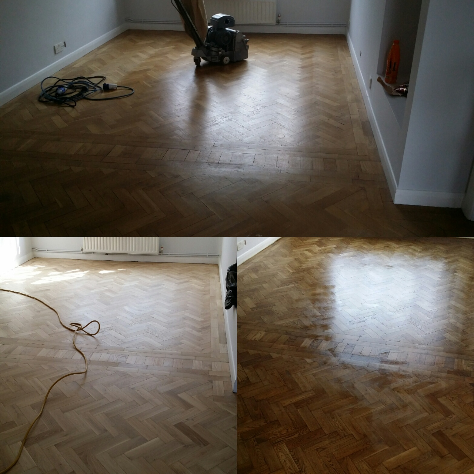 Parquet Floor Sanding Services and Restoration
