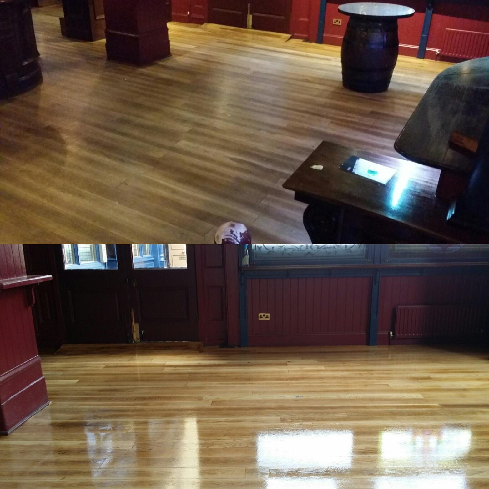 London Commercial floor sanding