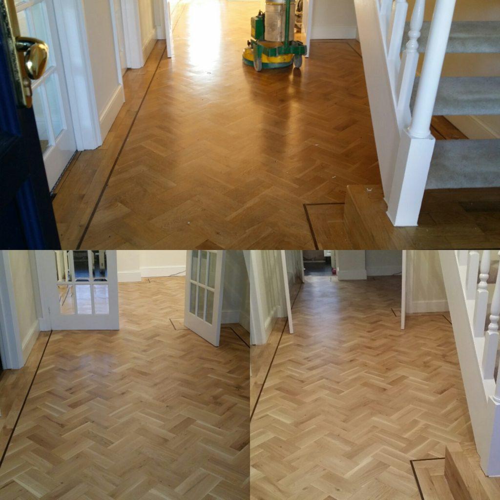 Essex restore wooden floor