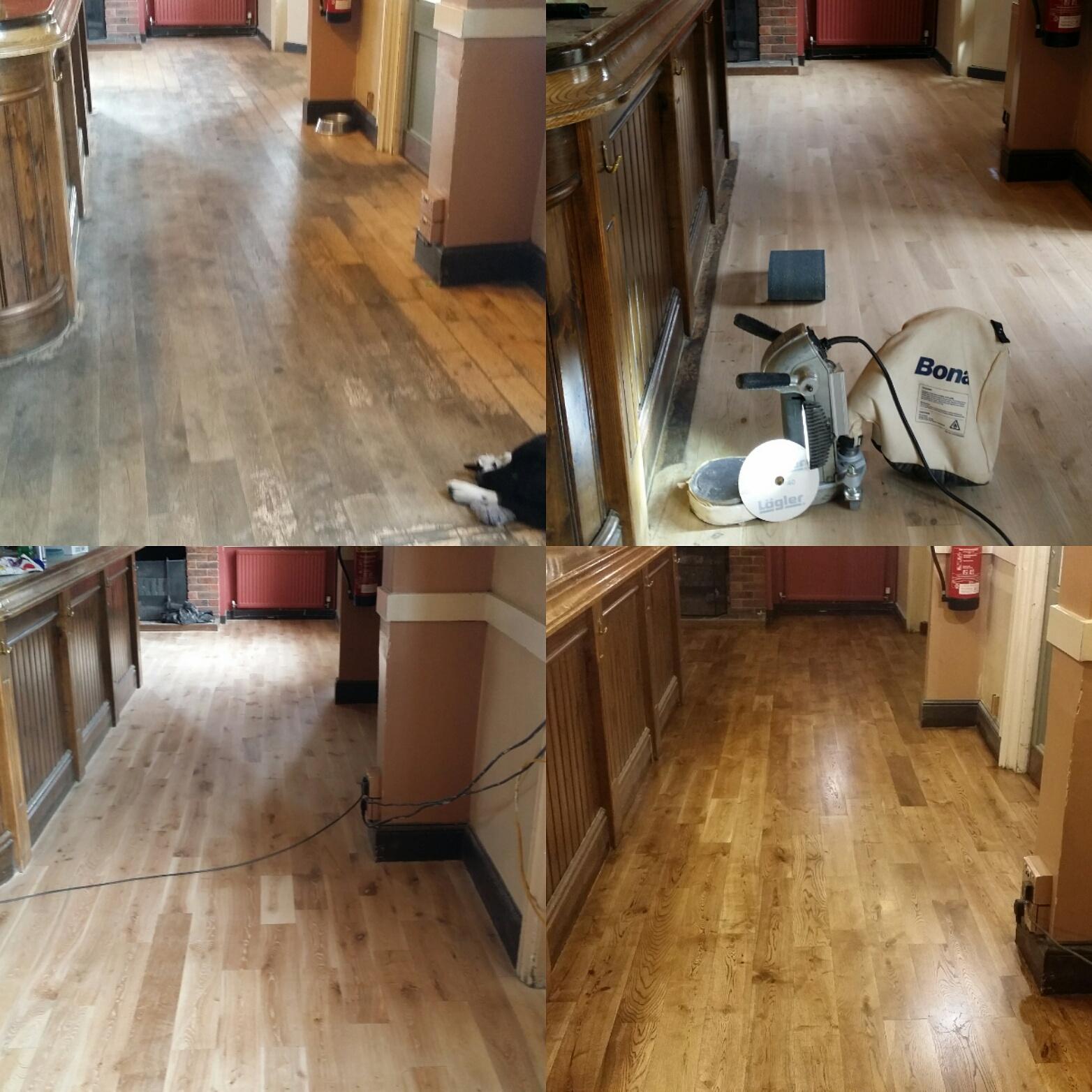 Commercial Floor sanding and refinishing