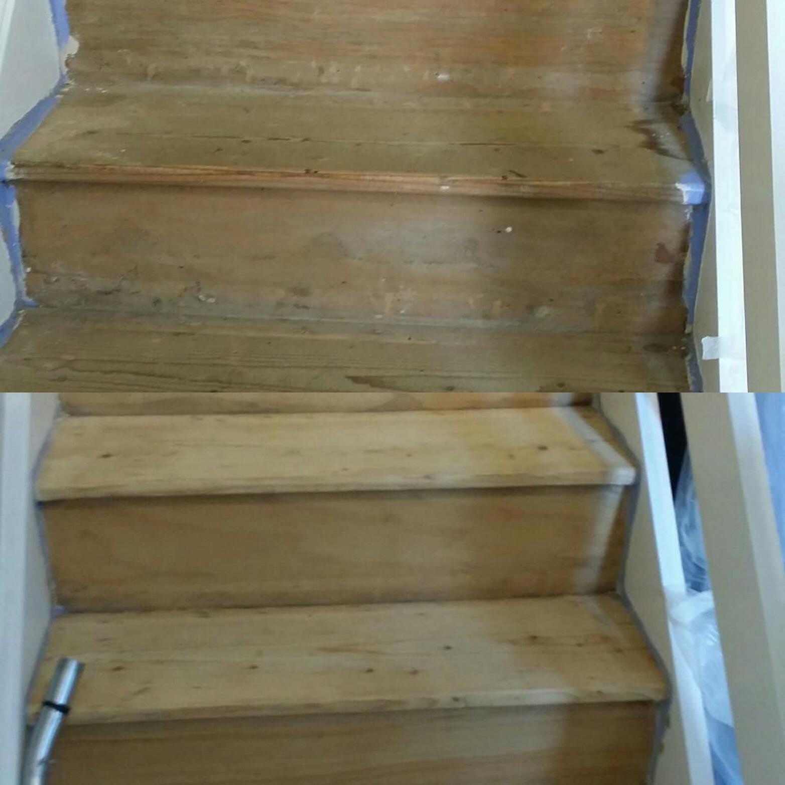 Stair restoration