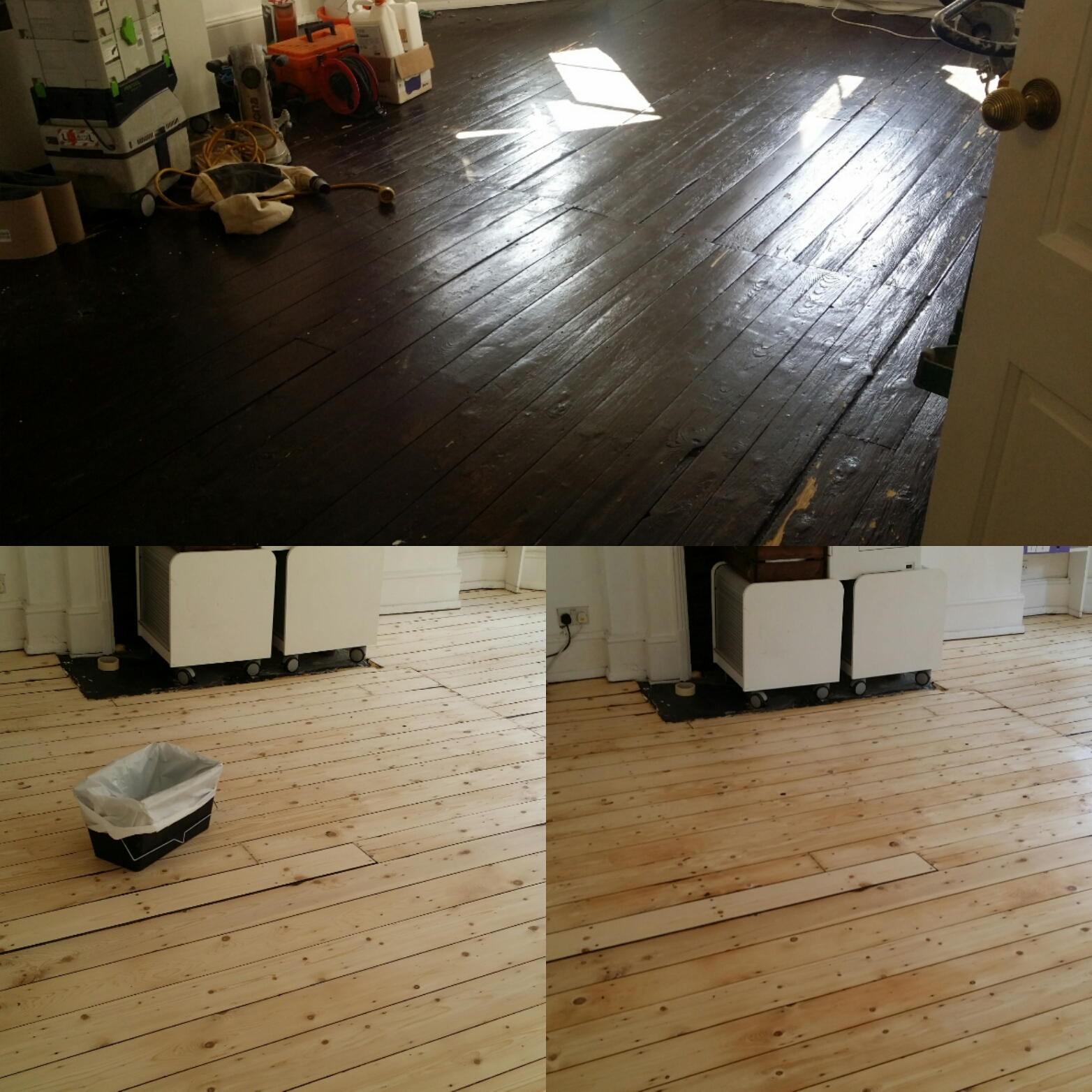 Commercial floor renovation