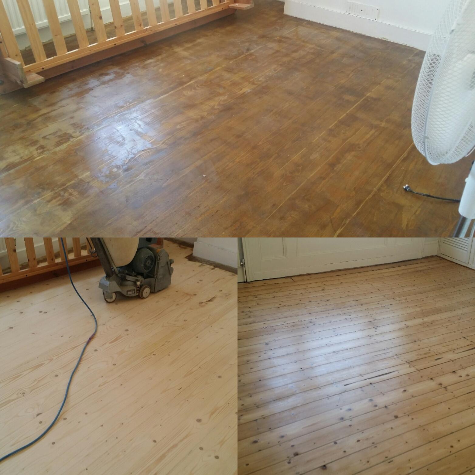 Floor refinishing london