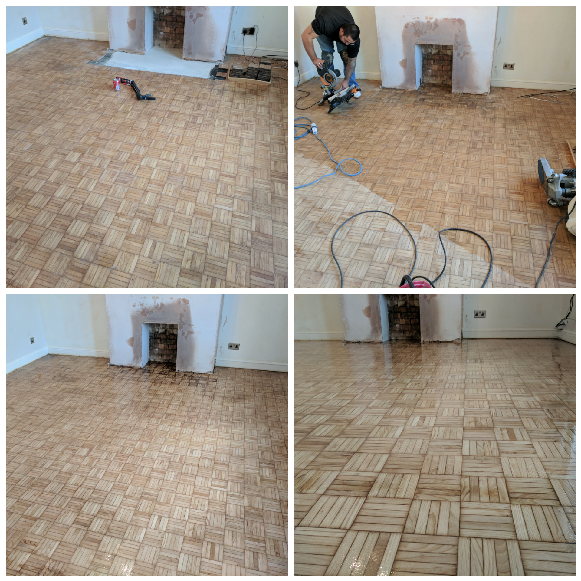 Parquet Finger Sanding And Refinishing Absolute Floor Sanding And