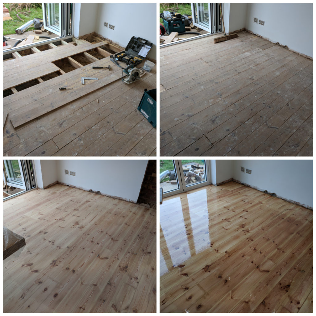 Floor laying and installation, London and Essex