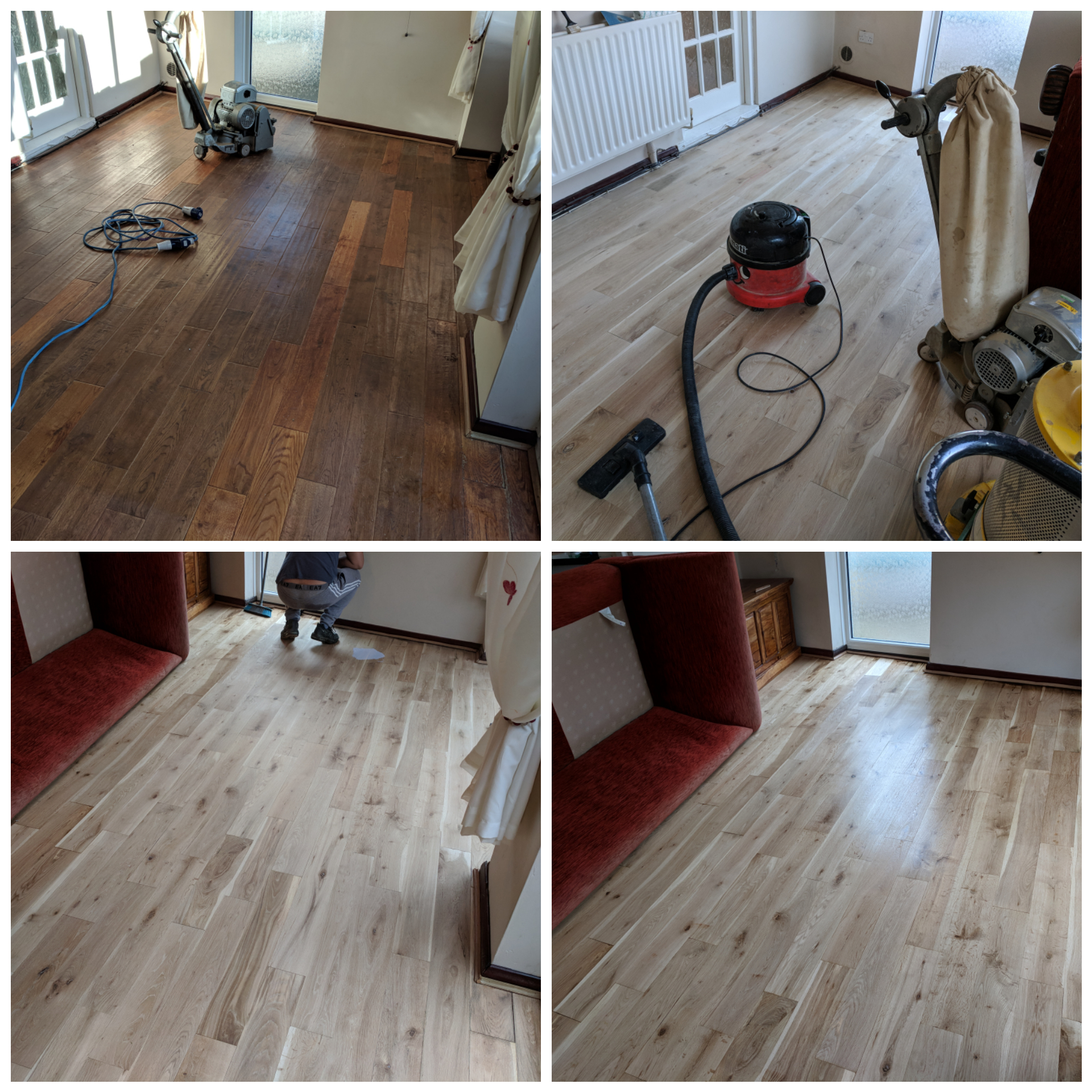 Floor Sanding With Furniture In The Room Absolute Floor
