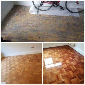 parquet floor sanding and refinishing