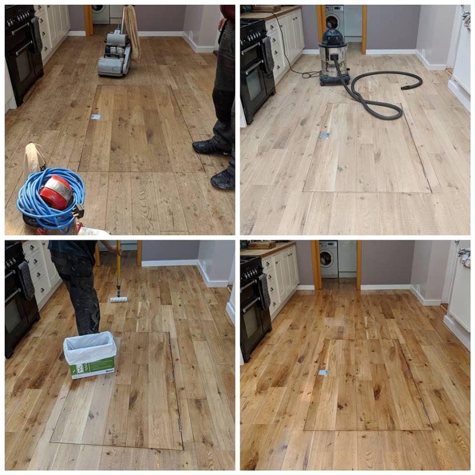 Pine Floor Sanding Services in Kent