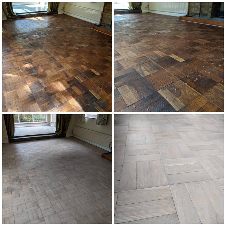 White Wash Floor Sanding