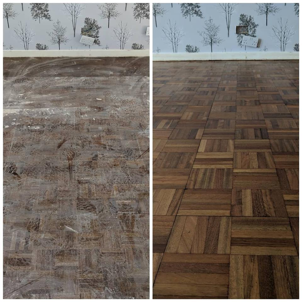 Parquet Floor Sanding and Refinishing in Croydon