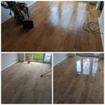 Oak floor sanding services in Harlow