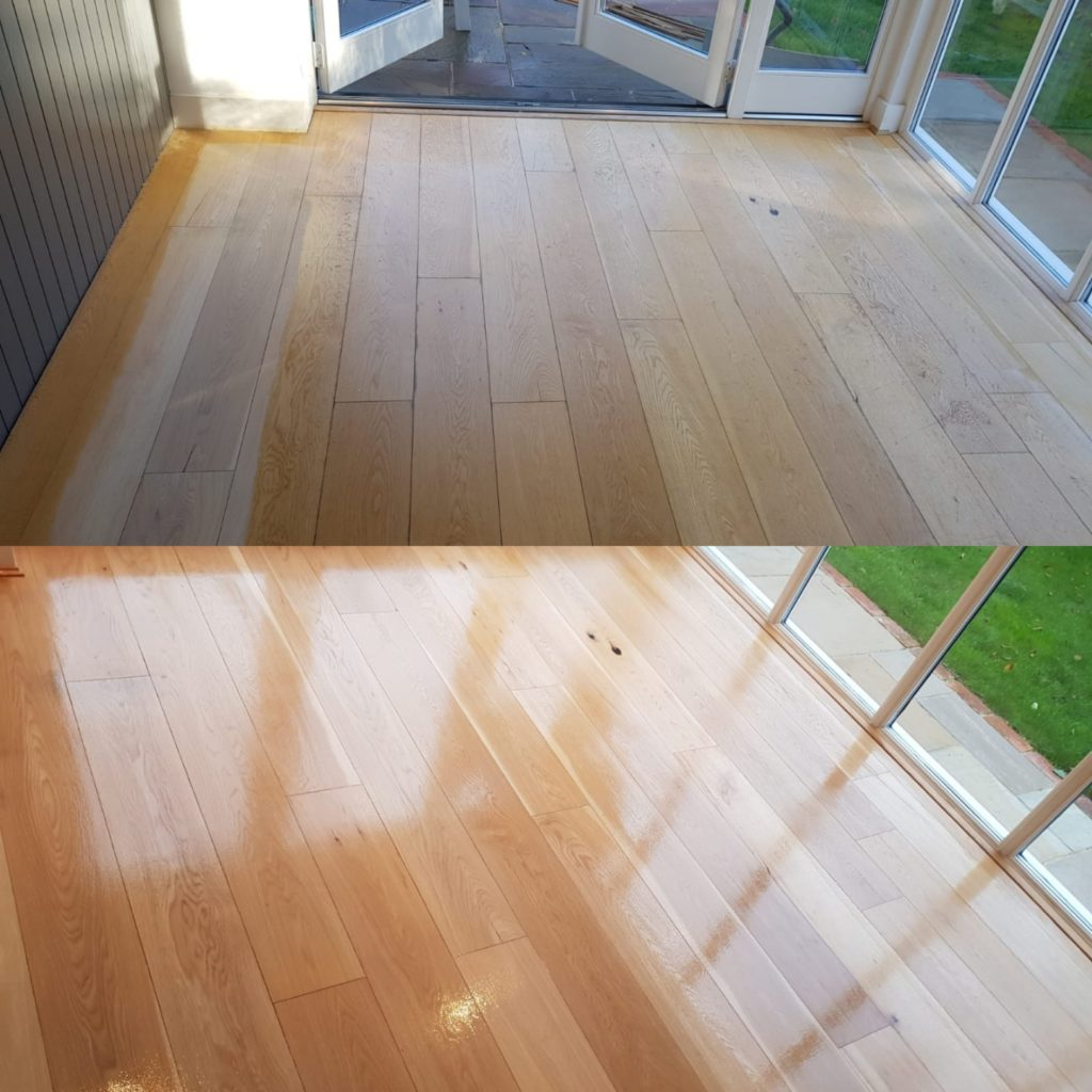 Oak floor Sanding Services