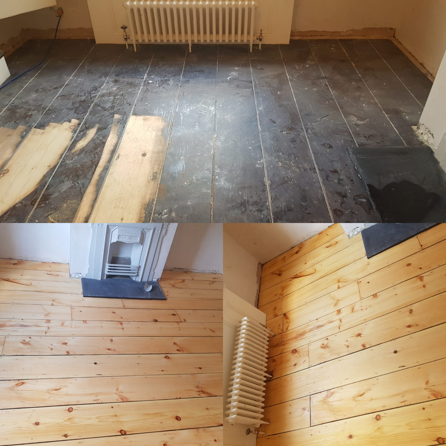 Pine Floor Sanding London