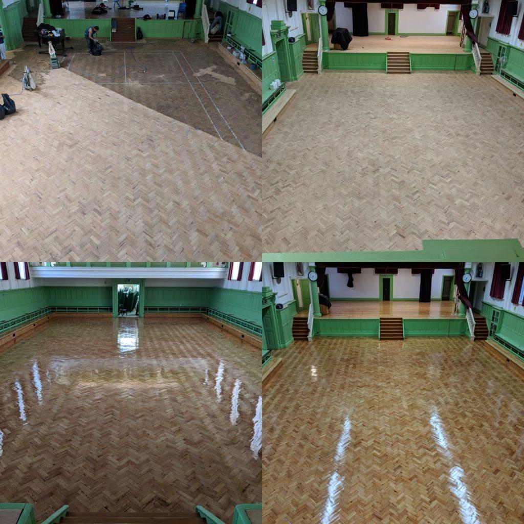 School Floor Sanding London