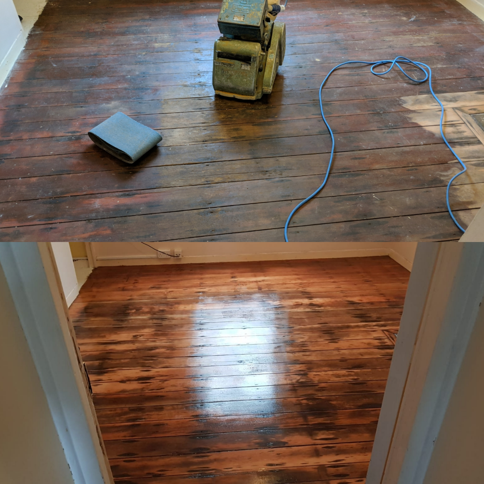 Floor Sanding in East London