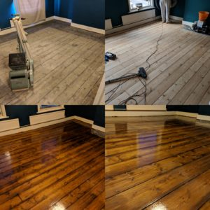 Floor sanding services London floor renovation