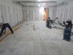 Tommy Hilfiger floor installation