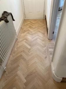 reclaimed herringbone parquet floor image 22